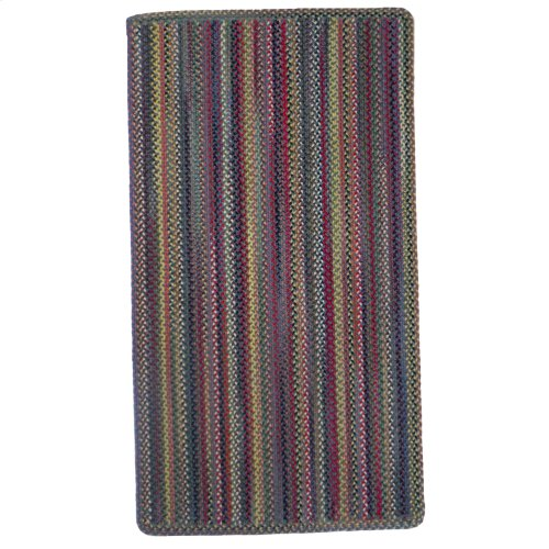 Americana Colony Blue Braided Rugs (Custom)