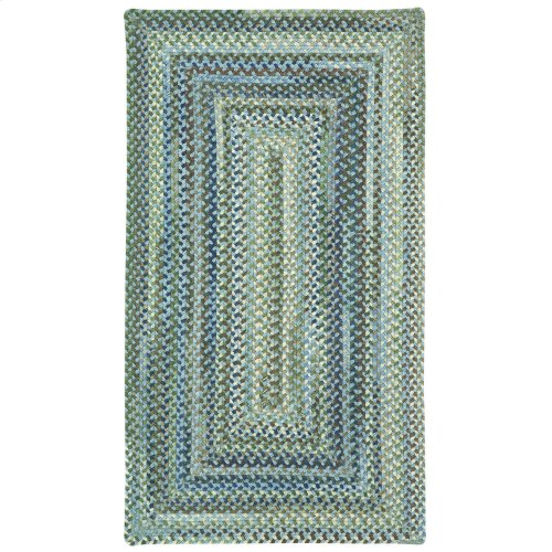 Homecoming Sky Blue Braided Rugs
