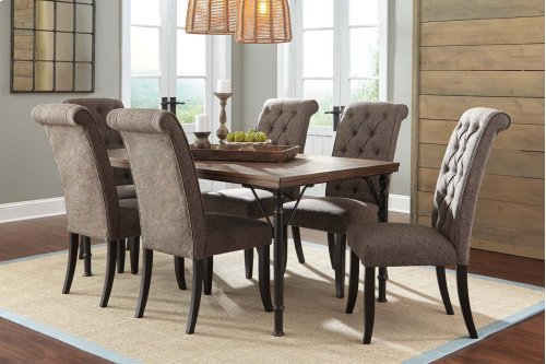 Tripton - Medium Brown 5 Piece Dining Room Set