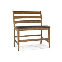 Santa Clara Ladder Back Counter Bench Product Image