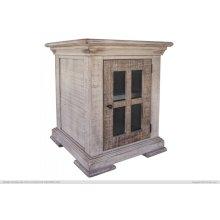 1 Door, End Table