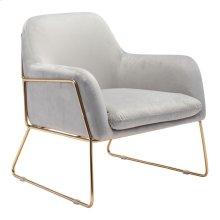 Nadir Arm Chair Gray Velvet
