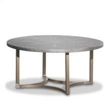 Alta Round Cocktail Table W/ Gray Top