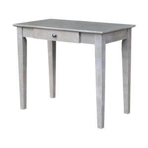 JOHN THOMAS FURNITUREStudent Desk in Taupe Gray