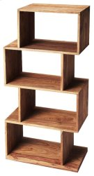 The ultra-modern Stockholm etagere will add style to your home. Its four boxes can be used to display family photos, collectables and trinkets on the many shelf spaces offered by this unique book case. Product Image