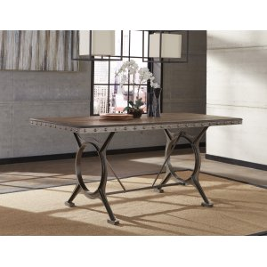 Hillsdale FurniturePaddock Rectangle Counter Height Dining Table - Ctn A - Top Only