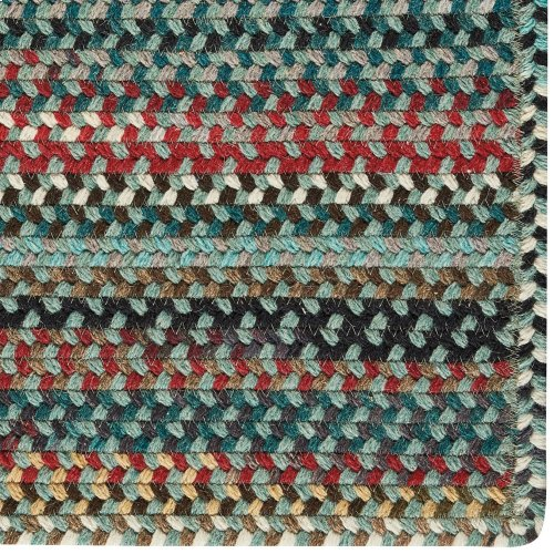 Yorktowne Green Braided Rugs (Custom)