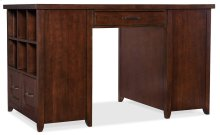 Home Office Wendover Utility Desk (Two Bookcase Pedestals)