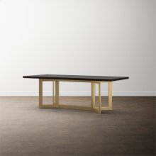 "MODERN with Bench*Made 108"" Oak Astor Table"