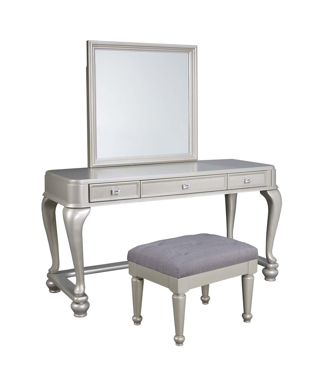 Hidden · Additional Coralayne   Silver 3 Piece Bedroom Set