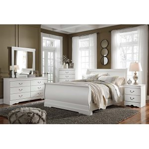 Ashley Furniture Anarasia - White 3 Piece Bed Set (Queen)