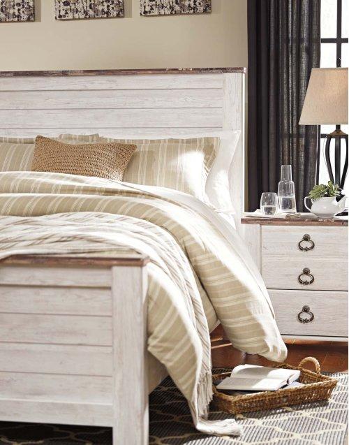 B267 King Panel Bed