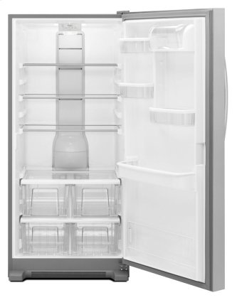 Whirlpool(R) 31-inch Wide SideKicks(R) All-Refrigerator with LED Lighting - 18 cu. ft.
