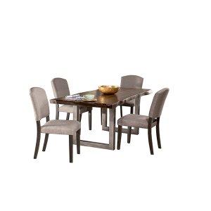 Hillsdale FurnitureEmerson 5pc Rectangle Dining Set - Gray Sheesham