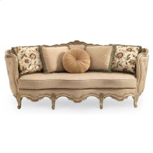 Florence Carved Wood Sofa
