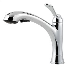 Polished Chrome 1-Handle Pull-Out Kitchen Faucet