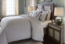7 Pc Queen Duvet Set Linen