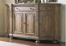 Home Entertainment Sorella Shaped Credenza