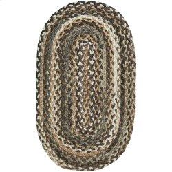 Windsor Taupe Braided Rugs (Custom)