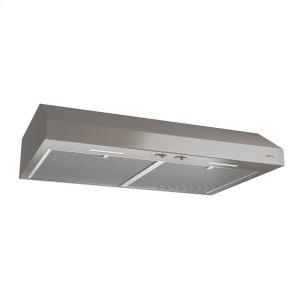 BroanBroan® 30-Inch Convertible Under-Cabinet Range Hood, 250 CFM, Slate