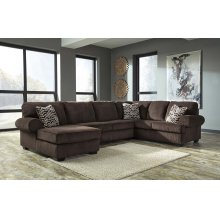Jinllingsly - Chocolate 3 Piece Sectional