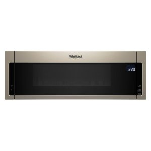 Whirlpool1.1 cu. ft. Low Profile Microwave Hood Combination Sunset Bronze
