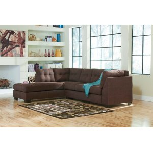 Ashley Furniture Maier - Walnut 2 Piece Sectional