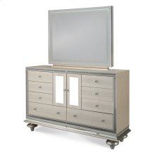 Upholstered Dresser & Mirror
