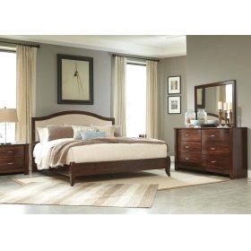 Corraya - Medium Brown 2 Piece Bed Set (King)