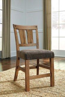 Tamilo - Gray/Brown Set Of 2 Dining Room Barstools