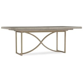 Dining Room Elixir 80in Rectangular Dining Table w/1-20in Leaf