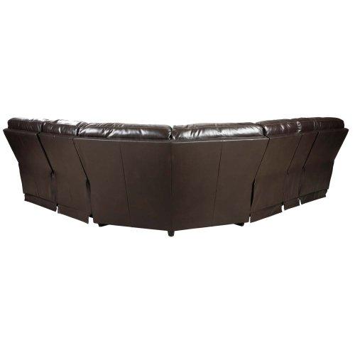 Warstein - Chocolate 3 Piece Sectional