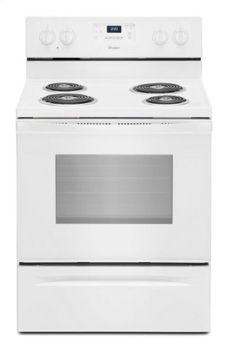 Whirlpool(R) 4.8 Cu. Ft. Freestanding Electric Range with AccuBake(R) System