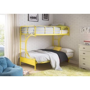 YELLOW T/F BUNKBED KD VERSION