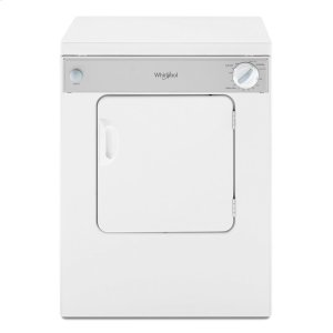 3.4 cu. ft. Compact Top Load Dryer with Flexible Installation -