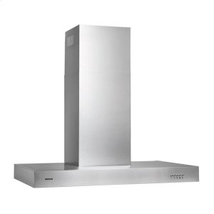 "Broan450 CFM, 35-1/4"" wide Chimney Style Range Hood in Stainless Steel"