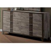 Henderson 2 Tone Melamine Dresser