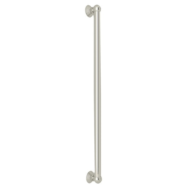 "Polished Nickel 24"" Decorative Grab Bar"