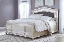 Coralayne - Silver 3 Piece Bed Set (King)