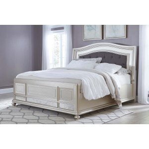Ashley Furniture Coralayne - Silver 3 Piece Bed Set (King)