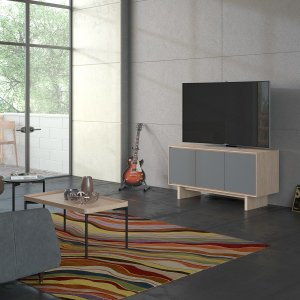 Triple Width Media Cabinet 8377 Gfl in Environmental -