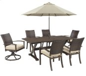 Moresdale - Brown 3 Piece Patio Set