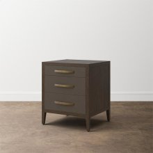MODERN Emilia 3 Drawer Nightstand