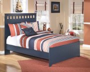 Leo - Blue 3 Piece Bed Set (Full) Product Image