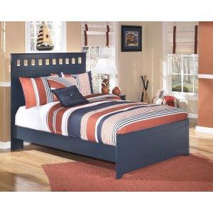 AshleySIGNATURE DESIGN BY ASHLEYLeo - Blue 3 Piece Bed Set (Full)