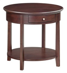 "CAF McKenzie Round End Table (26""D)"