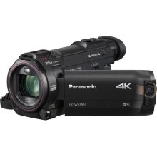 4K Cinema-Like Camcorder, 20X LEICA DICOMAR Stabilized Lens, WiFi, Built-in Multi Scene Twin Camera, and Electronic Viewfinder - HC-WXF991K