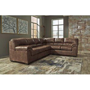 Ashley Furniture Bladen - Coffee 3 Piece Sectional