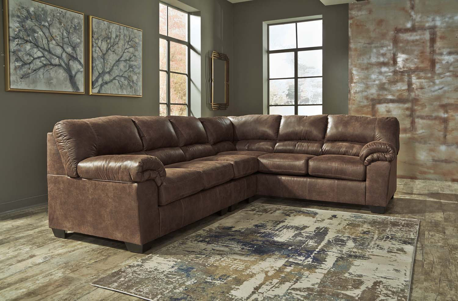 Bladen   Coffee 3 Piece Sectional
