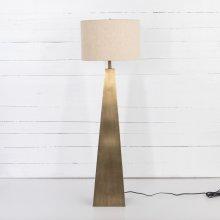 Brass Finish Leander Floor Lamp